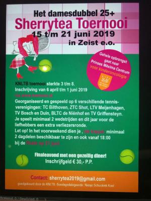 Sherrytea toernooi 2019