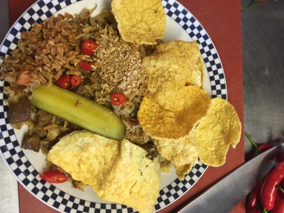 Donderdag 31/8: Nasi goreng en toebehoren