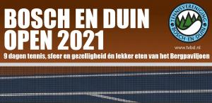 Bosch en Duin open 2021