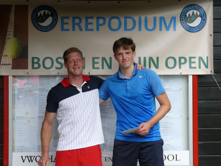 TVBD OT 2018 - HE C: 1e Erik van Uden - 2e Jordy Nieuwendijk