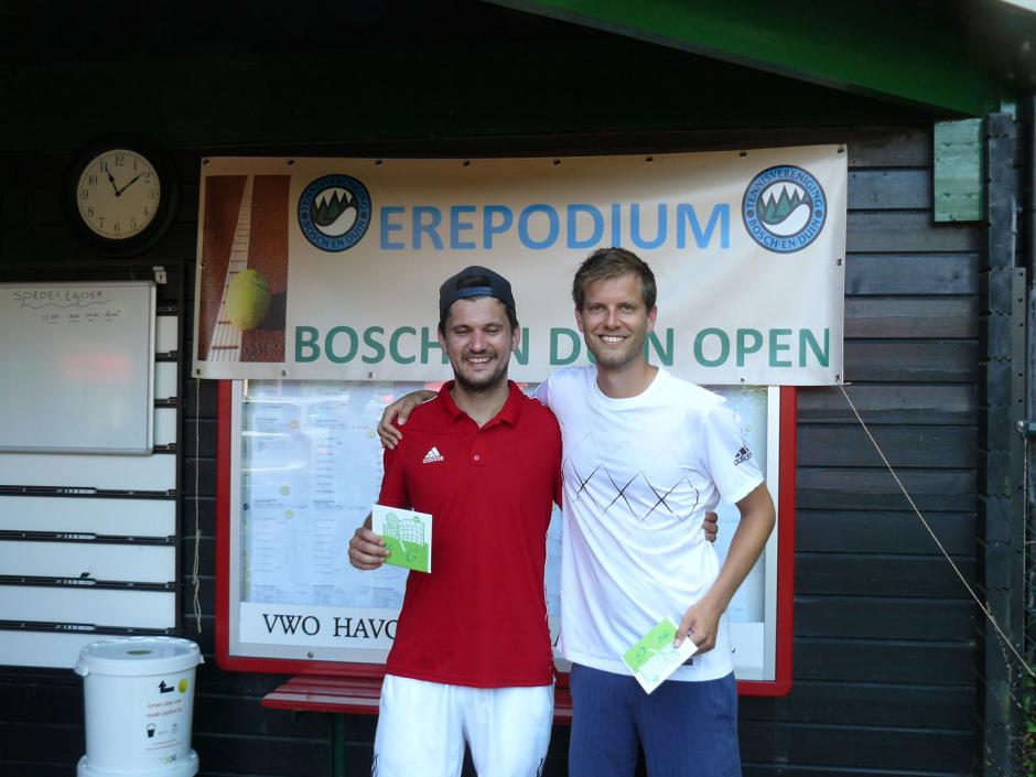 TVBD OT 2018 - HE G: 1e Eric Prinsen - 2e Bastiaan Tuenter