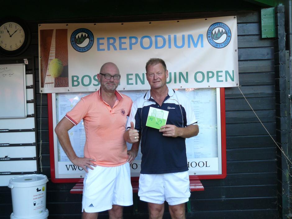 TVBD OT 2018 - HE 35+ D: 1e Arie van Lunteren - 2e Johan Petersen