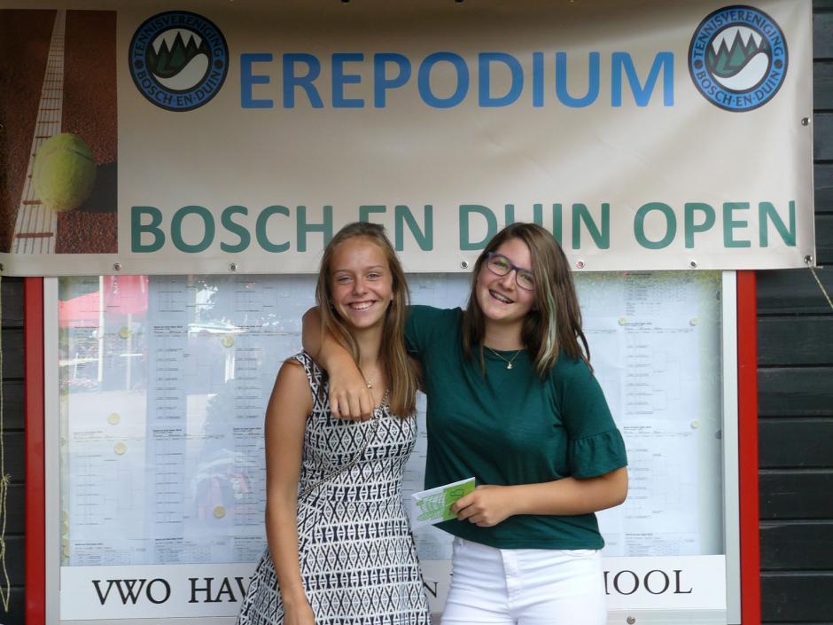 TVBD OT 2018 - DE B: 1e Elisa Battermann - 2e Lisa Brinkhorst
