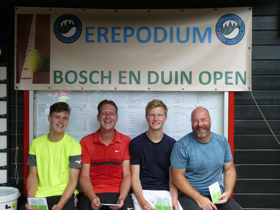 TVBD OT 2018 - HD E: 1e MarcoMichel van der Kraan en Mark Siebers - 2e Justin Battermann en Ronald van Uden