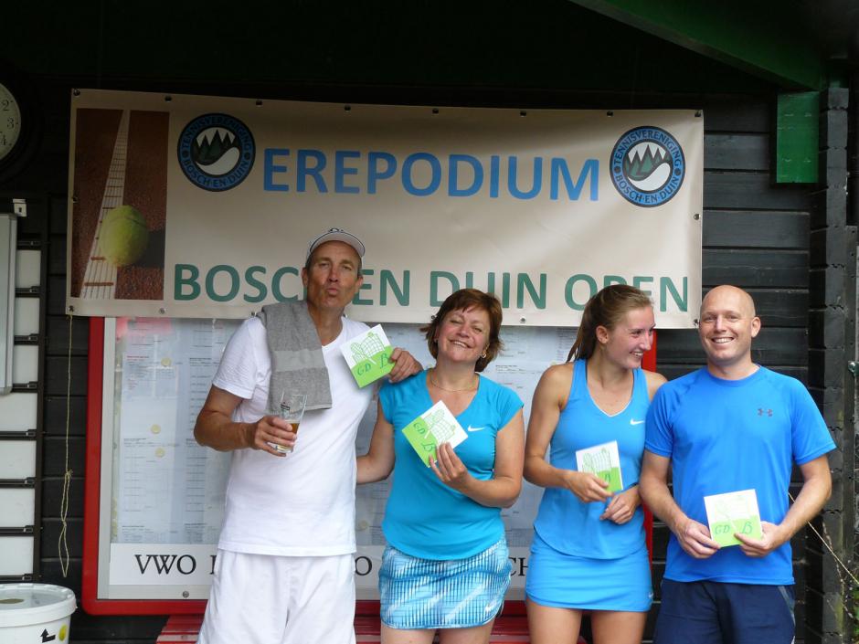 TVBD OT 2018 - GD B: 1e Dennis Huussen en Maureen van Dijk - 2e Coenraad de Roij en Nathalie IJsseldijk