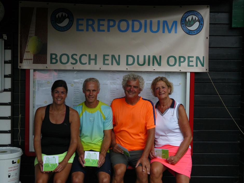 TVBD OT 2018 - GD D: 1e Ben Altemuhl en Janneke van Zutphen - 2e Tom en Dagmar Kuin