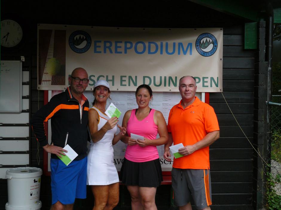 TVBD OT 2018 - GD 35+ D: 1e Johan Petersen en Henny Koelewijn - 2e Richard Budding en Mirjam van Renswoude