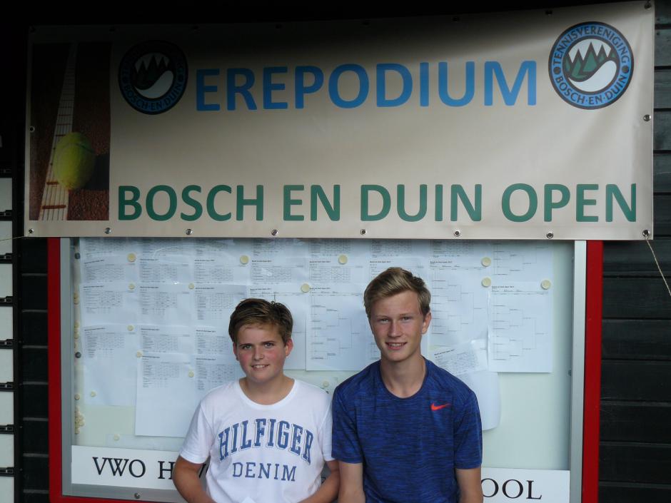 HD E Jasper Dirksen en Mark Siebers